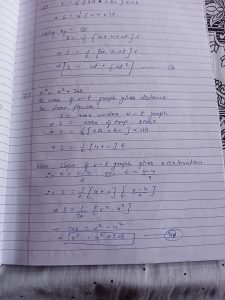 These are proof of equations of motion by calculus method