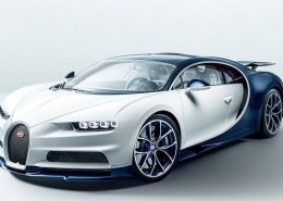 What is the top speed of Bugatti?
