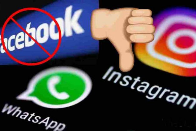 Facebook, Instagram and WhatsApp globally down